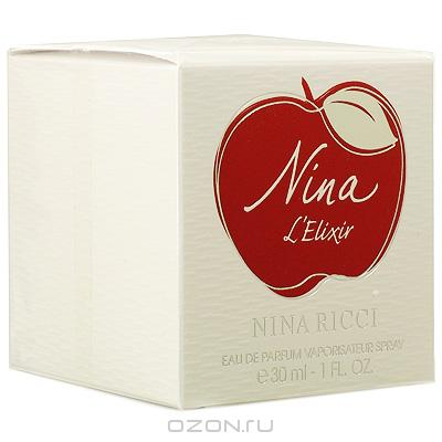 """Nina Ricci """"Nina L'Elixir"""". Парфюмированная вода, 30 мл"""