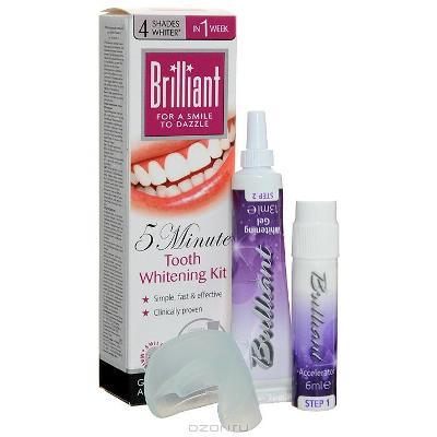 """Отбеливающий комплекс для зубов Brilliant """"5 минут"""""""