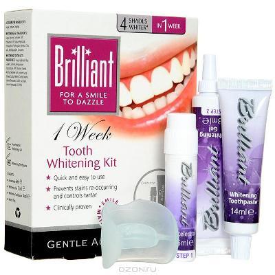 """Отбеливающий комплекс для зубов Brilliant """"7 дней"""""""