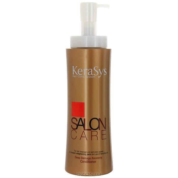 """Кондиционер """"KeraSys"""" для восстановления сильно поврежденных волос, 600 мл"""
