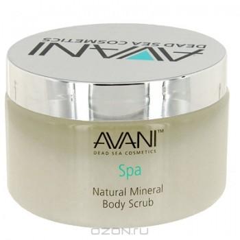 """Минеральный скраб для тела """"Avani"""", натуральный, 400 г"""