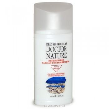 """Минеральный бальзам-ополаскиватель """"Doctor Nature"""". Для сухих, окрашенных и поврежденных волос, 250 мл"""