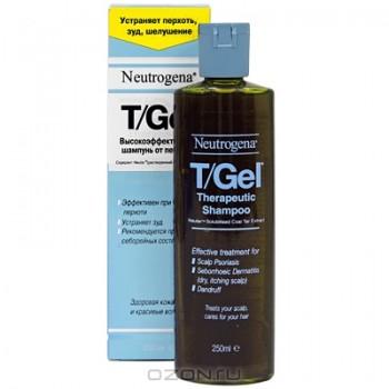 """Шампунь от перхоти """"Neutrogena"""", с экстрактом дегтя, 250 мл"""