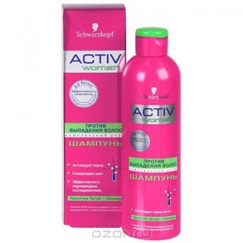 """Шампунь для женщин """"Activ F Dr. Hoting"""" против выпадения волос, 250 мл"""