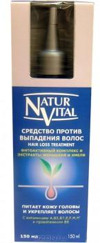 """Средство против выпадения волос """"Natur Vital"""", 150 мл"""