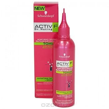 """Тоник для женщин """"Activ F Dr. Hoting"""" против выпадения волос, 150 мл"""