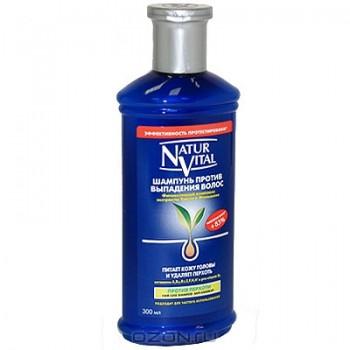 """Шампунь """"Natur Vital"""" против выпадения волос, 300 мл"""