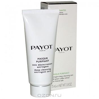 """Очищающая и стягивающая поры маска """"Payot"""", 75 мл"""