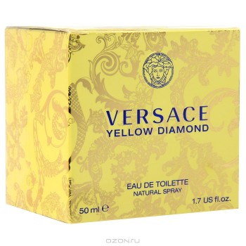 "Gianni Versace ""Yellow Diamond"". Туалетная вода, 50 мл"