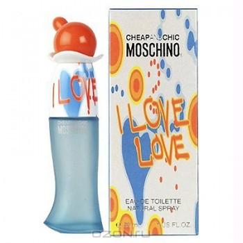 "Moschino ""I Love Love"". Туалетная вода, 50 мл"