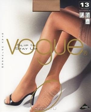 "Чулки Vogue ""Slip In 13"". Suntan (загар), размер M-L"