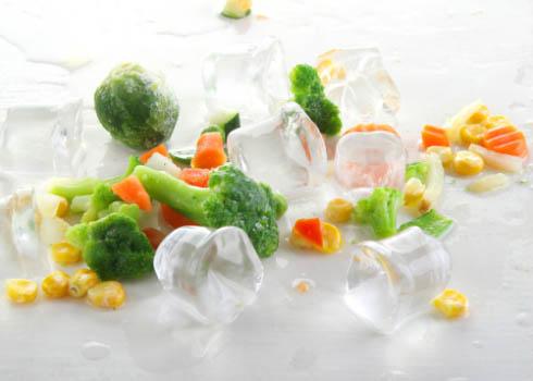 Полезные качества замороженных овощей