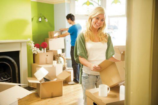 переехать в новый дом